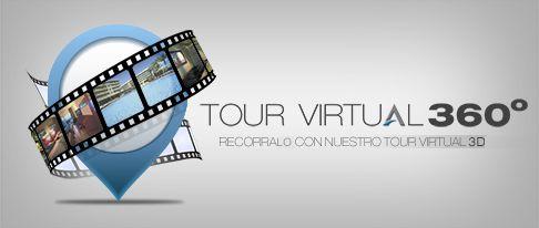 Puedes ver una visita virtual de la casa